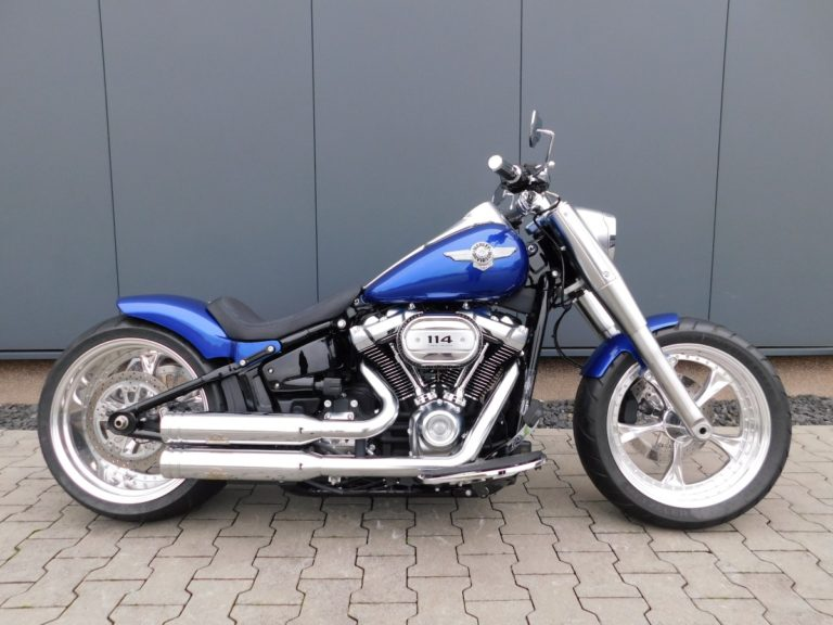 Read more about the article FLFBS Softail Fat Boy Komplett Umbau